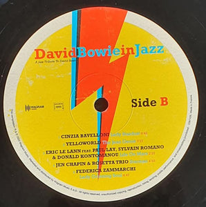 Various - David Bowie In Jazz - A Jazz Tribute To David bowie (LP, Comp) (M) - natural selection vinyl records
