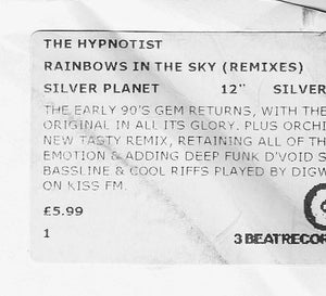 "The Hypnotist - Rainbows In The Sky (12"", RE, W/Lbl) (G+) - natural selection vinyl records"