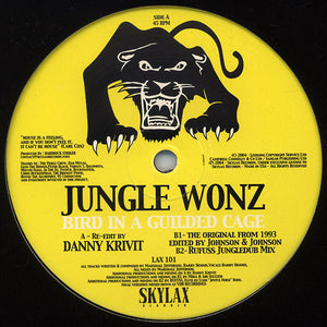 "Jungle Wonz - Bird In A Guilded Cage (12"") (M) - natural selection vinyl records"