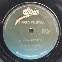 "Load image into Gallery viewer, Shakin' Stevens - You Drive Me Crazy (7"") (VG) - natural selection vinyl records"