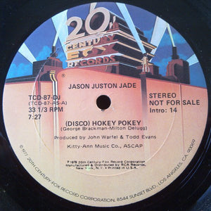 Jason Juston Jade : (Disco) Hokey Pokey (12