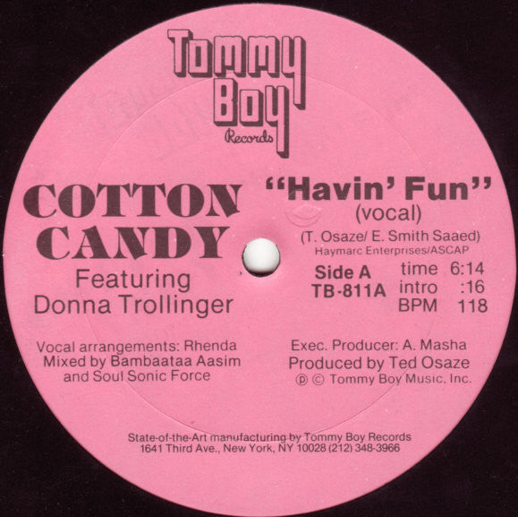 Cotton Candy Featuring Donna Trollinger - Havin' Fun (12