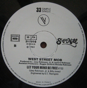 "West Street Mob - Break Dance - Electric Boogie / Let Your Mind Be Free (12"", Single, Ltd) (VG+) - natural selection vinyl records"