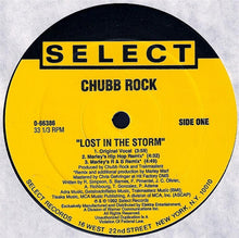 "Load image into Gallery viewer, Chubb Rock - Lost In The Storm (12"", Maxi) (VG+) - natural selection vinyl records"