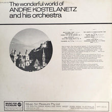 Load image into Gallery viewer, André Kostelanetz And His Orchestra - The Wonderful World Of André Kostelanetz And His Orchestra (LP) (VG) - natural selection vinyl records