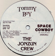 "Load image into Gallery viewer, The Jonzun Crew - Space Cowboy (12"", Promo) (VG+) - natural selection vinyl records"