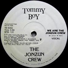 "Load image into Gallery viewer, The Jonzun Crew - We Are The Jonzun Crew (12"", Promo) (VG+) - natural selection vinyl records"