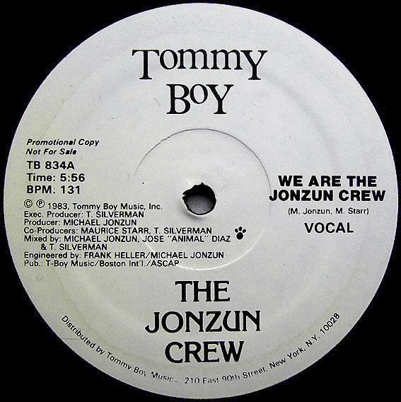 The Jonzun Crew - We Are The Jonzun Crew (12