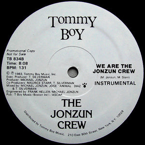 "The Jonzun Crew - We Are The Jonzun Crew (12"", Promo) (VG+) - natural selection vinyl records"