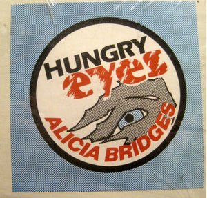"Alicia Bridges - Hungry Eyes (12"") (VG+) - natural selection vinyl records"