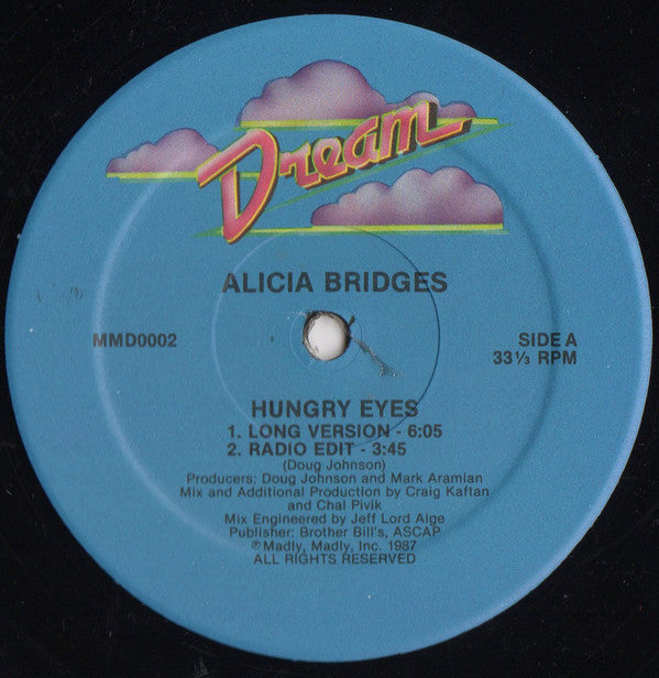 Alicia Bridges - Hungry Eyes (12