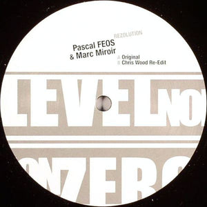 "Pascal F.E.O.S. & Marc Miroir - Rezolution (12"") (VG+) - natural selection vinyl records"