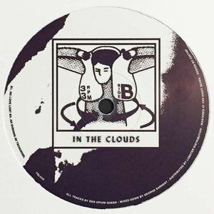 "Der Opium Queen - In The Clouds (12"") (VG) - natural selection vinyl records"