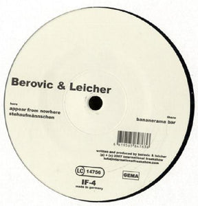 "Berovic & Leicher - Bananerama Bar (12"") (VG+) - natural selection vinyl records"