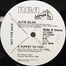 "Load image into Gallery viewer, Alfie Silas - A Puppet To You (12"", Mono, Promo) (VG) - natural selection vinyl records"