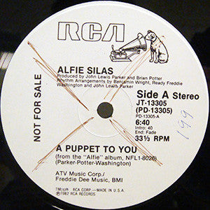 "Alfie Silas - A Puppet To You (12"", Mono, Promo) (VG) - natural selection vinyl records"