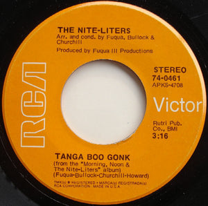 "The Nite-Liters - K-Jee / Tanga Boo Gonk (7"", Single) (VG+) - natural selection vinyl records"
