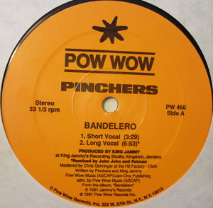 "Pinchers - Bandelero / Hold Me (12"") (M) - natural selection vinyl records"