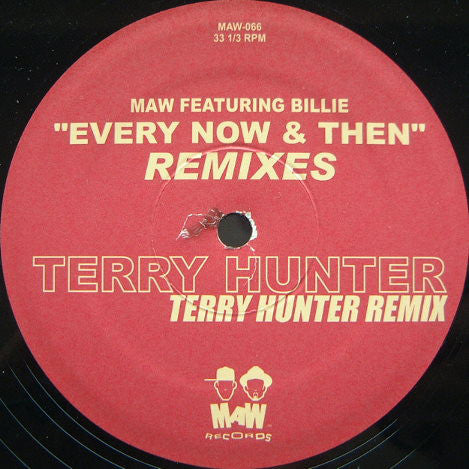 Masters At Work Featuring Billie - Every Now & Then (Remixes) (12