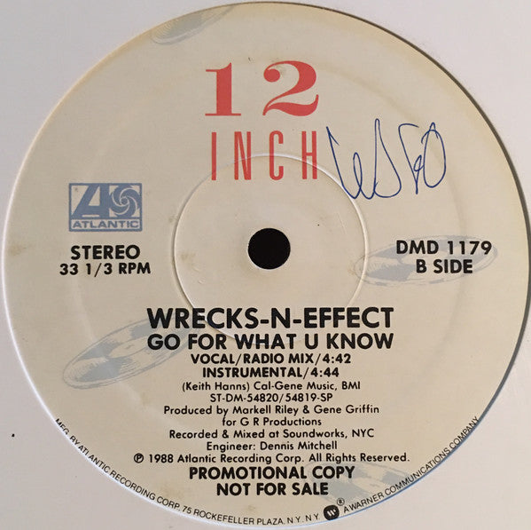 Wrecks-N-Effect - Go For What U Know (12