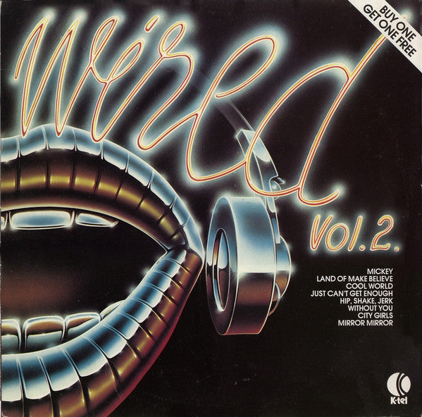 Various - Wired Vol. 2. (LP, Comp) (NM or M-) - natural selection vinyl records