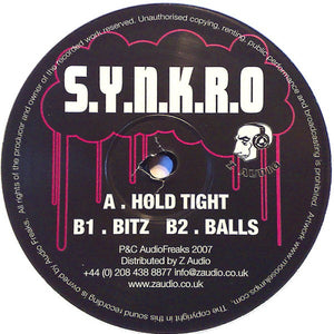 "Synkro (2) - Hold Tight (12"") (VG+) - natural selection vinyl records"