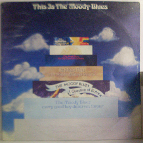 The Moody Blues - This Is The Moody Blues (2xLP, Comp) (VG+) - natural selection vinyl records