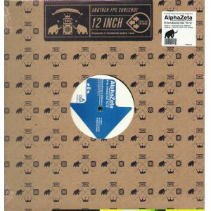 "AlphaZeta - Everything's Different (12"") (VG) - natural selection vinyl records"