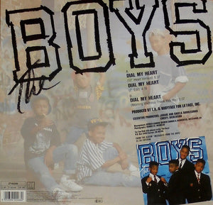 "The Boys - Dial My Heart (12"") (VG) - natural selection vinyl records"