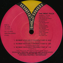 "Load image into Gallery viewer, The Brat Pack - So Many Ways (Do It Properly Part II) (12"") (VG+) - natural selection vinyl records"