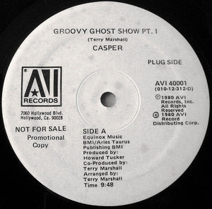 "Casper - Casper's Groovy Ghost Show (12"", Promo) (VG+) - natural selection vinyl records"