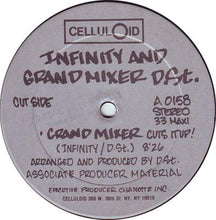"Load image into Gallery viewer, The Infinity Rappers And D.St. - Grandmixer Cuts It Up! (12"", Maxi) (G+) - natural selection vinyl records"