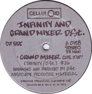 "The Infinity Rappers And D.St. - Grandmixer Cuts It Up! (12"", Maxi) (G+) - natural selection vinyl records"