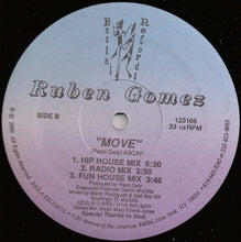 "Load image into Gallery viewer, Ruben Gomez - Move (12"") (VG+) - natural selection vinyl records"