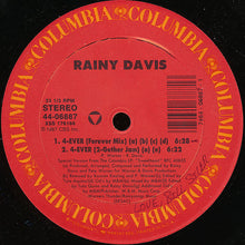 "Load image into Gallery viewer, Rainy Davis - 4-Ever (12"") (VG+) - natural selection vinyl records"