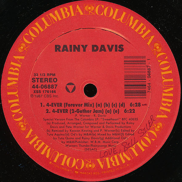 Rainy Davis - 4-Ever (12