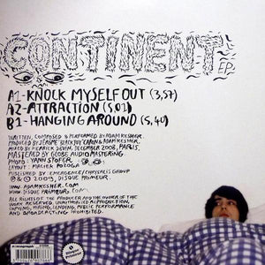 "Adam Kesher - Continent EP (10"", EP, Red) (NM or M-) - natural selection vinyl records"