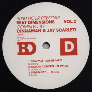 "Various - Beat Dimensions Vol.2 EP2 (12"", EP) (VG+) - natural selection vinyl records"