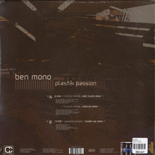 "Load image into Gallery viewer, Ben Mono - Plastik Passion (12"") (VG+) - natural selection vinyl records"