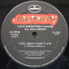 "Load image into Gallery viewer, Carsten Bohn's Bandstand Featuring DJ Hollywood - I Feel Great (12"") (VG+) - natural selection vinyl records"