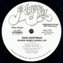 "Load image into Gallery viewer, Dan Hartman - Hands Down (12"", Promo) (VG) - natural selection vinyl records"