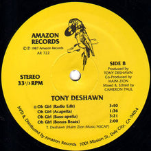 "Load image into Gallery viewer, Tony Deshawn - Oh Girl (12"") (VG+) - natural selection vinyl records"
