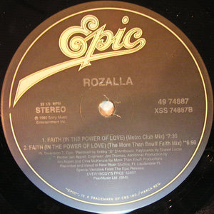 "Rozalla - Faith (In The Power Of Love) (12"") (VG+) - natural selection vinyl records"