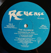 "Load image into Gallery viewer, Alliance (4) - Thoughts Of You (12"") (NM or M-) - natural selection vinyl records"