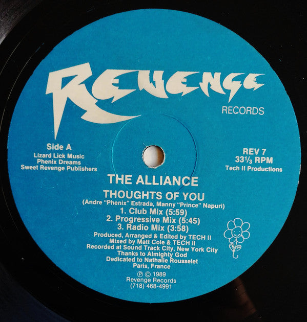Alliance (4) - Thoughts Of You (12
