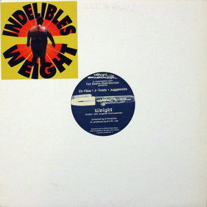 "Indelible Mc's / BMS - Weight / Mucho Stereo (12"") (VG+) - natural selection vinyl records"