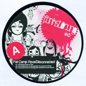 "Funkstörung - Fat Camp Feva / Disconnected (12"") (VG+) - natural selection vinyl records"