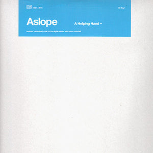 "Aslope - A Helping Hand EP (12"", EP, Ltd) (VG+) - natural selection vinyl records"