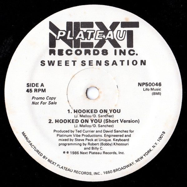 Sweet Sensation - Hooked On You (12
