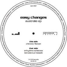 "Load image into Gallery viewer, Easy Changes - Australia EP (12"", EP) (VG+) - natural selection vinyl records"
